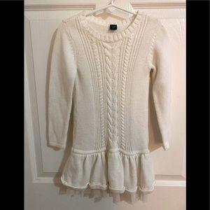 Baby GAP- Toddler Girl Sweater Dress- Size 4